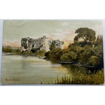 Carew Castle 1905 Postcard