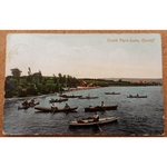 Roath Park Lake Cardiff 1916 Postcard Valentines 39439