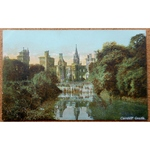 Cardiff Castle Pre 1919 Vintage Postcard Horrocks No 8