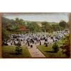 Roath Park Bandstand Cardiff Vintage Postcard Ettlinger Cardiff Series 1118