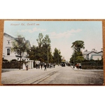 Newport Road Cardiff Postcard Early 20th century, MJR B6065