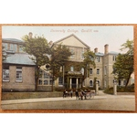 University College, Cardiff Postcard, Early 20th Century, MJR B6069