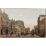 St Mary's Street Cardiff 1915 Postcard Glazette Series 1210