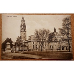 City Hall Cardiff Early 20th Century Postcard
