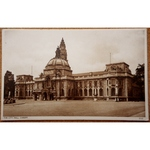 City Hall Cardiff Old Postcard No 23123