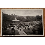 Roath Park Bandstand Real Photo Postcard 1907 Tucks Glosso 5533