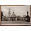 City Hall Cardiff Vintage Real Photo Postcard Strand series