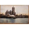 Entrance to the Docks, Cardiff, 1907 Postcard C1059