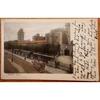Cardiff Castle 1904 Postcard, Horse Drawn Tram, Stewart & Woolf Series 142