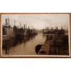 Merchant Ships The Docks Cardiff 1932 Postcard Photocrom Co 56424