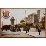Cardiff Castle 1912 Postcard, Beaufort Series Bristol