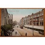 Queen Street Cardiff 1905 (?) Postcard
