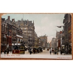 St Mary Street Cardiff 1910 Postcard Misch & Stock 51022