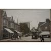 Stow Hill Newport Tram Old Postcard MJR B 7963