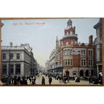 High Street Newport Old Postcard