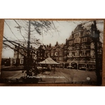 Llandrindod Wells Pump House Hotel Old Real Photo Postcard