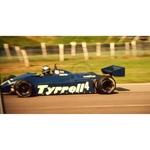 July 1982 F1, Brian Henton, Tyrrell-Ford Original 35mm Slide, Card Mounted