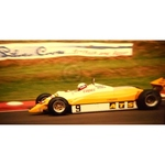 July 1982 F1, Manfred Winkelhock, ATS-Ford Original 35mm Slide, Card Mounted