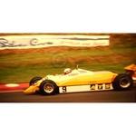 July 1982 F1, Manfred Winkelhock, ATS-Ford Original 35mm Slide, Card Mounted