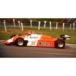 July 1982 F1, Bruno Giacomelli, Alfa Romeo Original 35mm Slide, Card Mounted