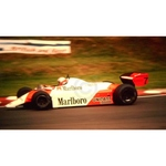 July 1982 F1, John Watson, McLaren-Ford Original 35mm Slide, Card Mounted