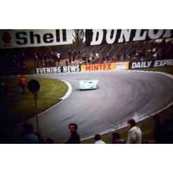 Edwards/Hobbs Lola T290 Original 35mm Photo Slide, BOAC 1000km, April 1972