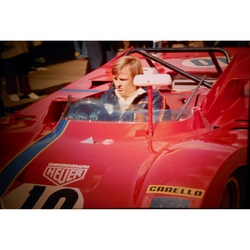 Ronnie Peterson Ferrari 312PB Original 35mm Photo Slide, BOAC 1000km, April 1972