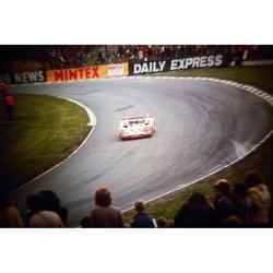 Ickx/Andretti Ferrari 312PB Original 35mm Photo Slide, BOAC 1000km, April 1972