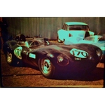 Jaguar D Type Original 35mm Photo Slide, JCB Historic Cars Championship June 1973