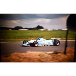Jacques Lafitte Ligier-Matra Original 35mm Photo Slide 1981 F1 British Grand Prix