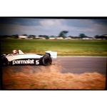 Nelson Piquet Brabham-Ford Original 35mm Photo Slide 1981 F1 British Grand Prix