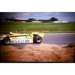 Alain Prost Renault Original 35mm Photo Slide 1981 F1 British Grand Prix