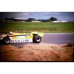 Alain Prost Renault Original 35mm Photo Slide 1981 F1 British Grand Prix