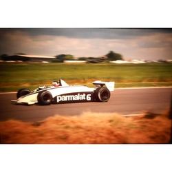 Hector Rebaque Brabham-Ford 35mm Photo Slide 1981 F1 British Grand Prix