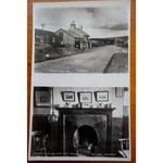 Warren House Inn Dartmoor 1953 Real Photo Postcard
