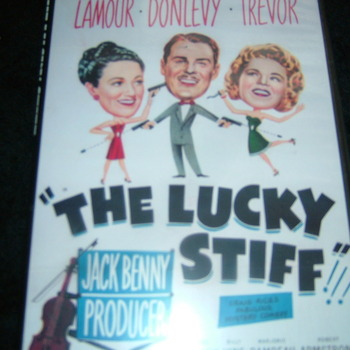 the lucky stiff 1949 dvd