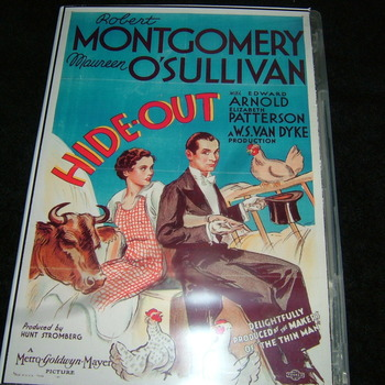 hide-out 1934 dvd robert montgomery
