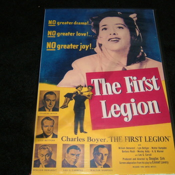 THE FIRST LEGION 1951 DVD