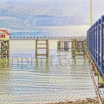Painterly Pier