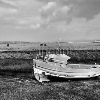 Penclawdd Fishing Boat