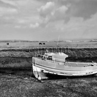 Penclawdd Fishing Boat
