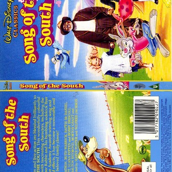 Song Of The South (1946) DVD. A Disney Movie.