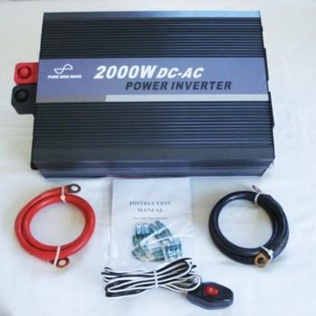 12V 2000W Pure Sine Wave
