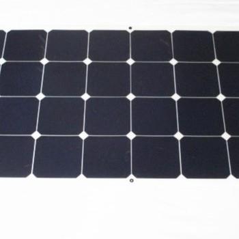 110W Semi Flexible with Sunpower Solar Cells