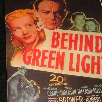 BEHIND GREEN LIGHTS 1946 DVD