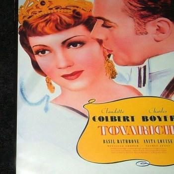 TOVARICH 1937 DVD