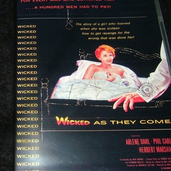 WICKED AS THEY COME 1959