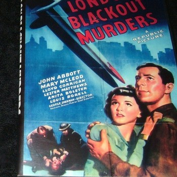 LONDON BLACKOUT MURDERS 1943 DVD