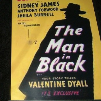 THE MAN IN BLACK 1949 DVD