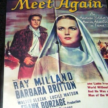 TILL WE MEET AGAIN 1944 DVD
